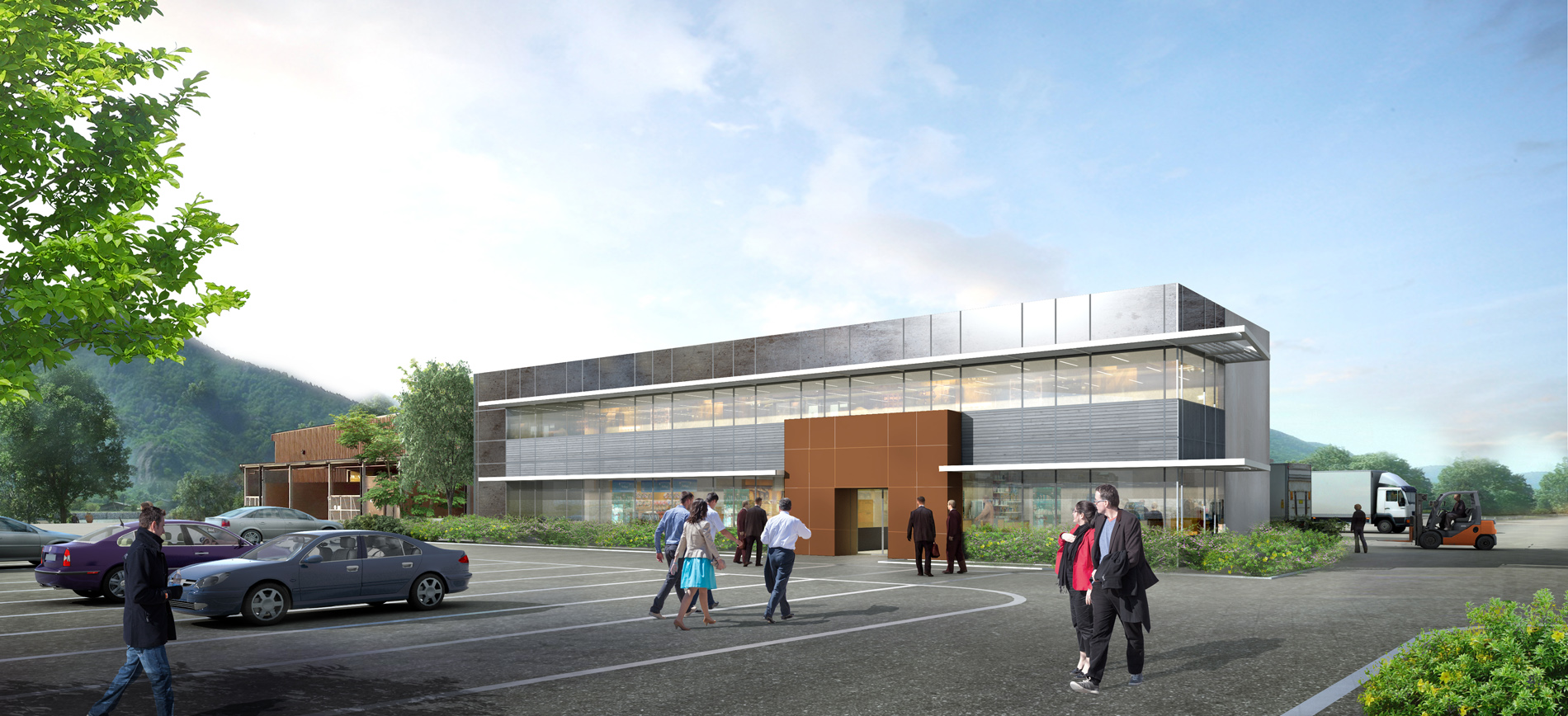 Perspectives architecture 3d grenoble lyon annecy for Architecte 3d 2018